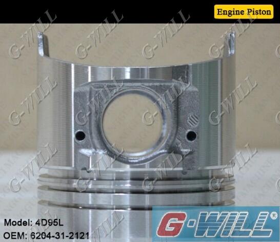4D95L Engine Piston For Komatsu Parts 6204-31-2121-Piston